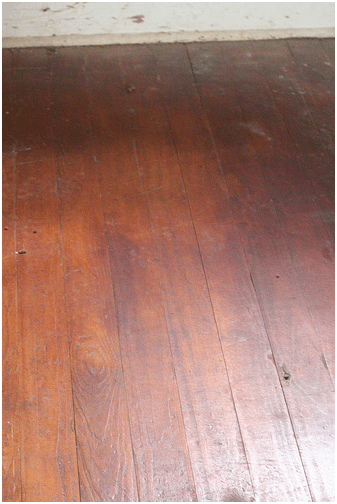 Hidden Hardwood Floors